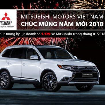 Mitsubishi Motors Việt Nam đạt kỷ lục bán hàng cao nhất lịch sử công ty